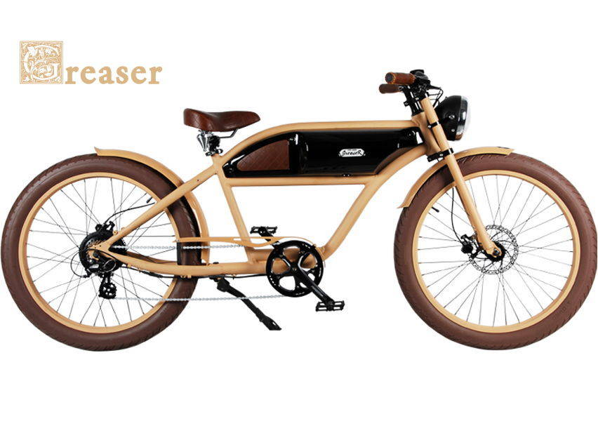 Ride Bike Style Vintage E-Bike Greaser