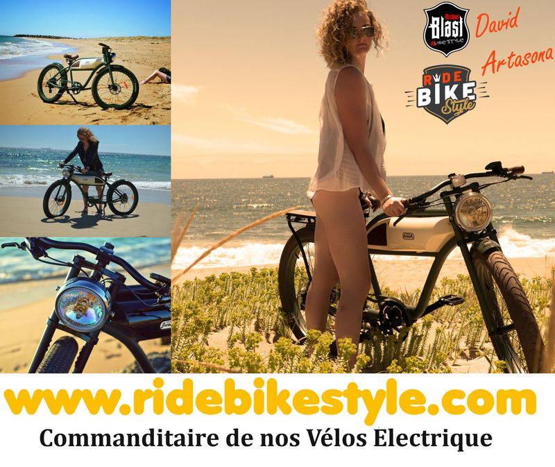 Ride Bike Style Vintage E-Bike