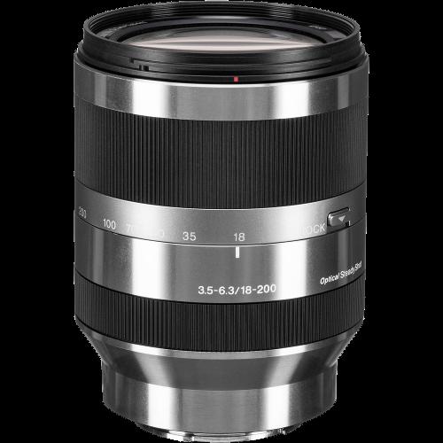 Sony 18–200mm F3.5–6.3 OSS