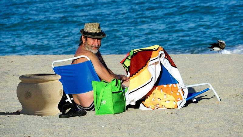 rejean at beach Hollywood Beach, FLorida