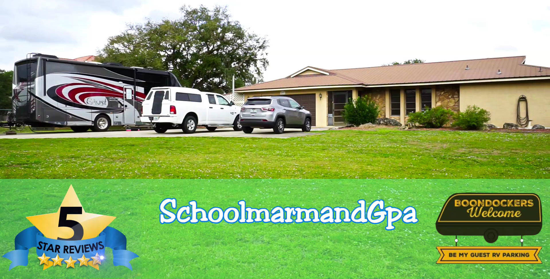 Boondockers Welcome free rv camping SchoolmarmandGpa