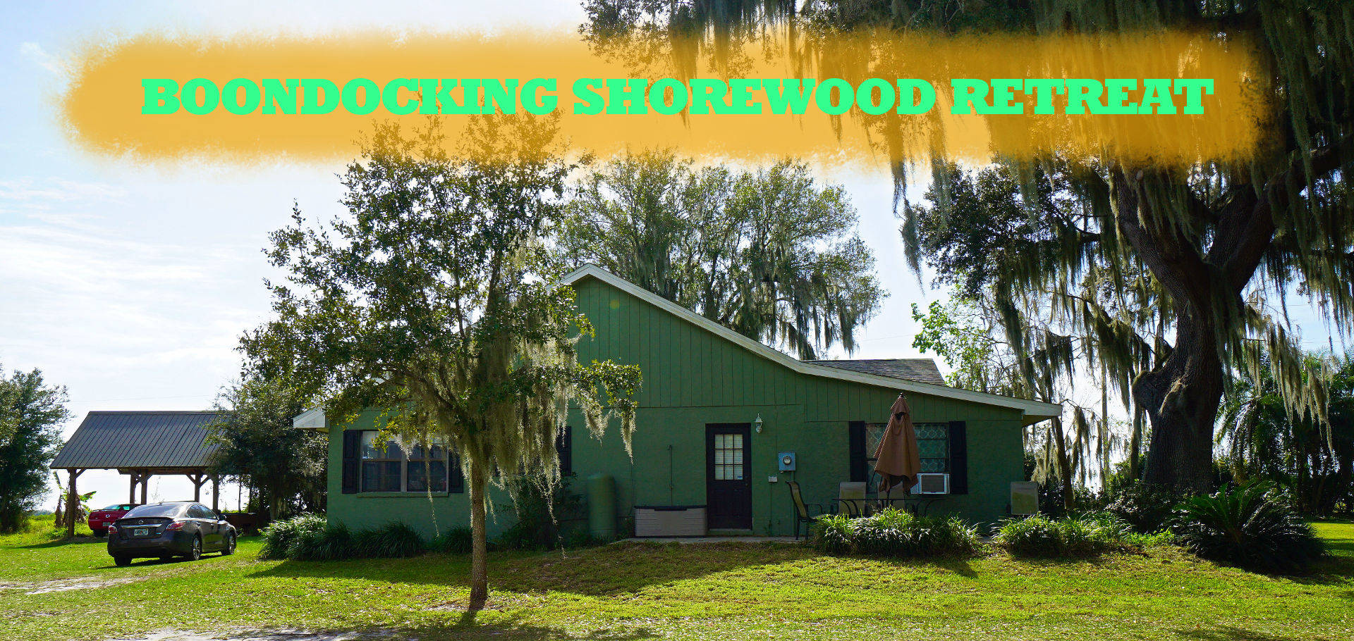 boondockers welcome free rv camping Shorewood Retreat