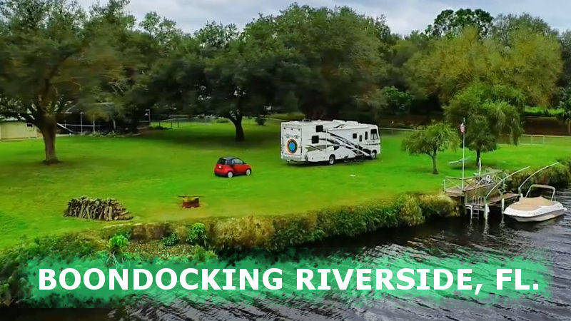 boondockers welcome free rv camping at Riverside.
