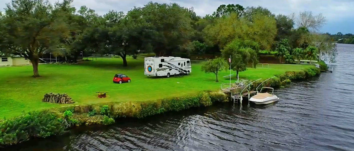 Boondockers Welcome free rv camping. Riverside