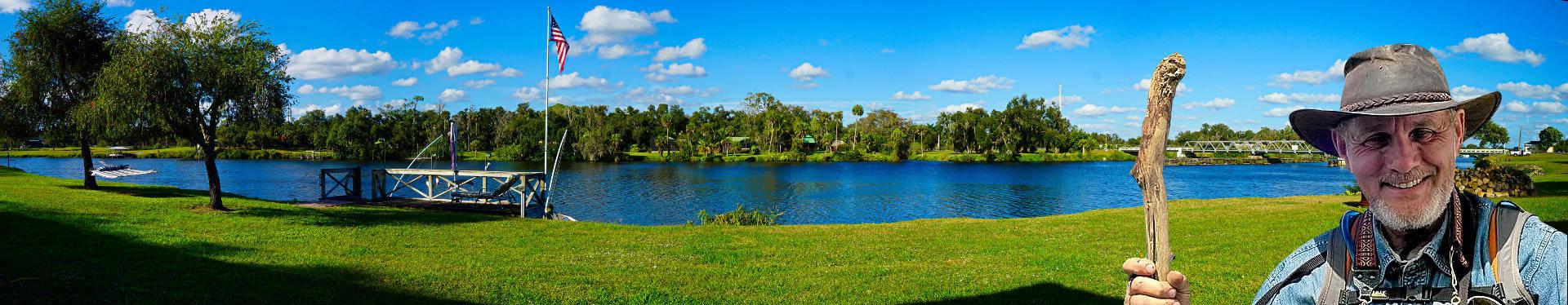 Boondockers Welcome free rv camping. Riverside. Fort Denaud à La Belle Florida