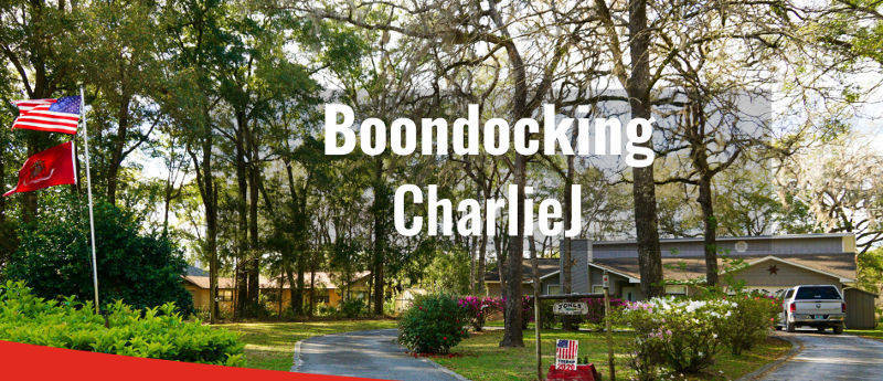 boondockers welcome free rv camping CharlieJ